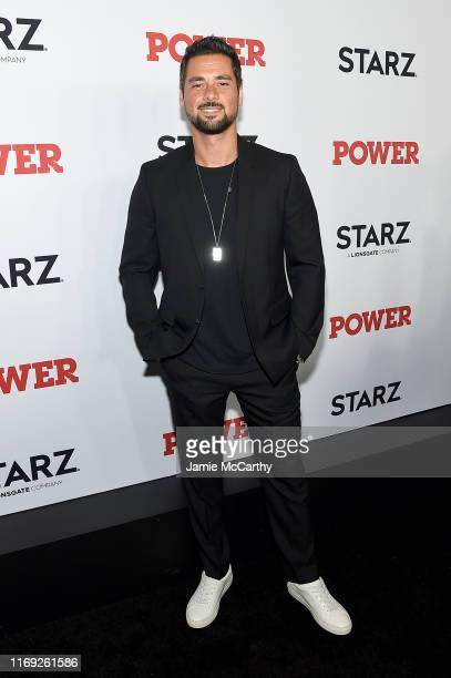 R Ramirez at STARZ Madison Square Garden Power Season 6 Red Carpet Premiere Concert and Party on August 20 2019 in New York City