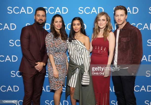 JR Ramirez Athena Karkanis Parveen Kaur Melissa Roxburgh and Josh Dallas the Manifest screening during SCAD aTVfest at SCADshow on February 9 2019 in...