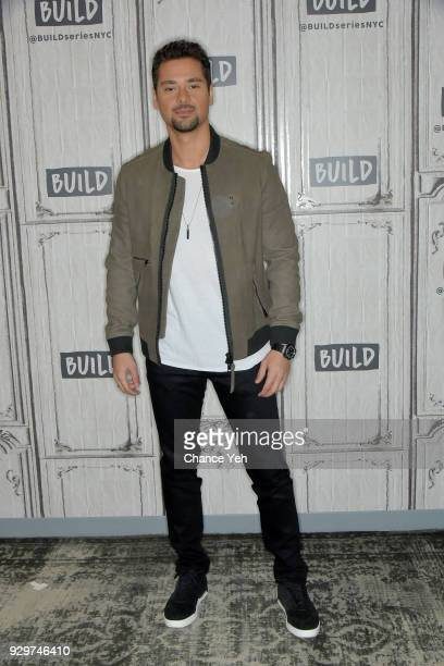 R Ramirez attends Build series to discuss Jessica Jones at Build Studio on March 9 2018 in New York City