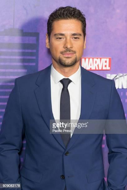 R Ramirez attends Marvel Jessica Jones Season 2 Premiere at AMC Loews Lincoln Square
