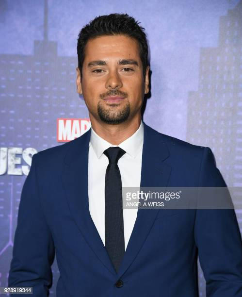 J R Ramirez attends Netflix's 'Marvel's Jessica Jones' Season 2 Premiere at AMC Loews Lincoln Square on March 7 2018 in New York / AFP PHOTO / ANGELA...