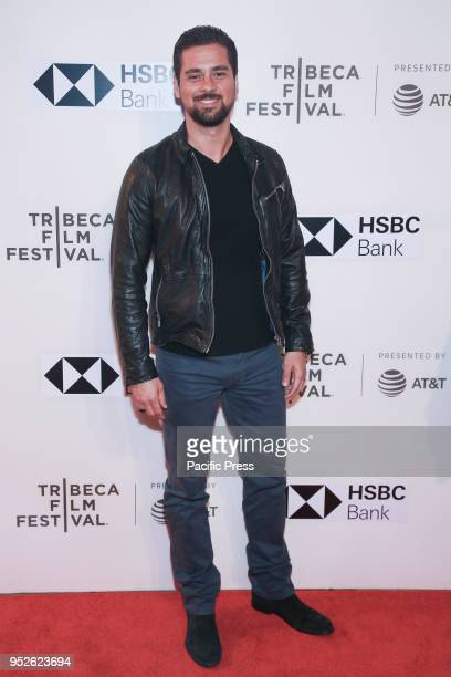 R Ramirez attends premiere of Disobedience during 2018 Tribeca Film Festival at BMCC