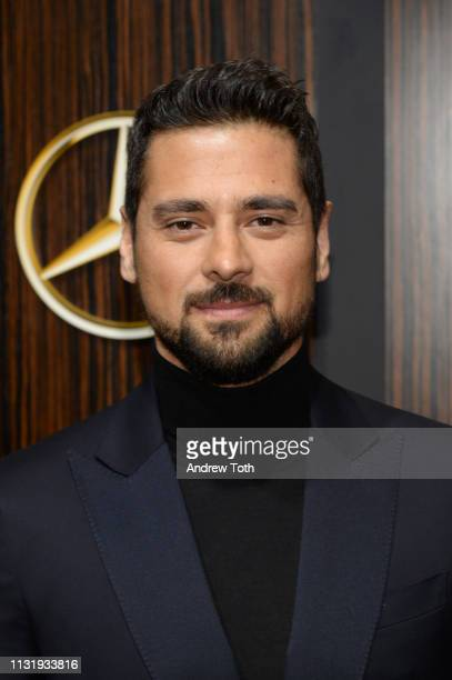 R Ramirez attends the MercedesBenz USA's Oscars viewing party at Four Seasons Hotel Los Angeles at Beverly Hills on February 24 2019 in Los Angeles...