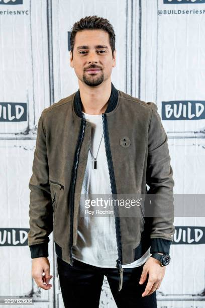 R Ramirez discusses Jessica Jones with the Build Series at Build Studio on March 9 2018 in New York City