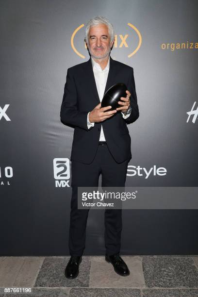 Ramiro Civita attends the Premio Iberoamericano De Cine Fenix 2017 press room at Teatro de La Ciudad on December 6 2017 in Mexico City Mexico