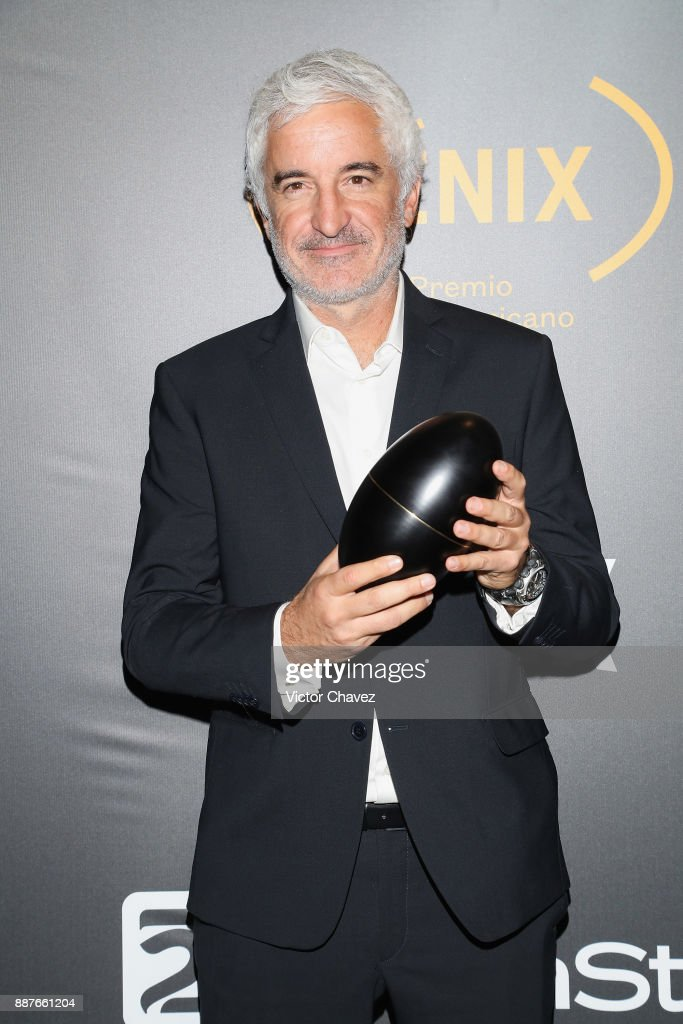 Ramiro Civita attends the Premio Iberoamericano De Cine Fenix 2017 press room at Teatro de La Ciudad on December 6, 2017 in Mexico City, Mexico.