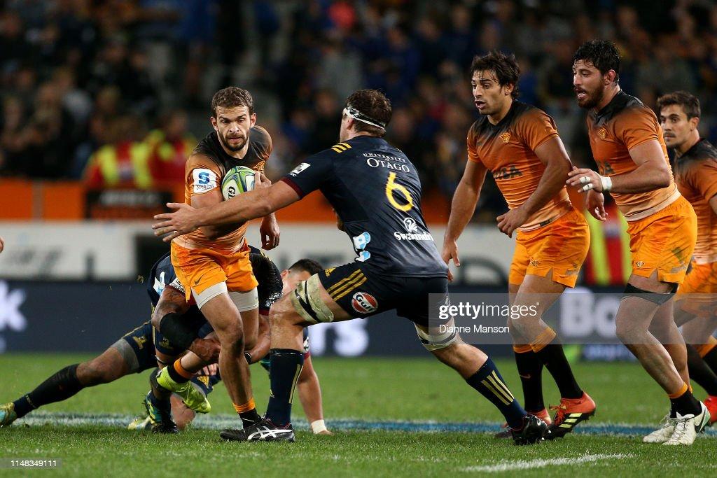 Super Rugby Rd 13 - Highlanders v Jaguares : News Photo
