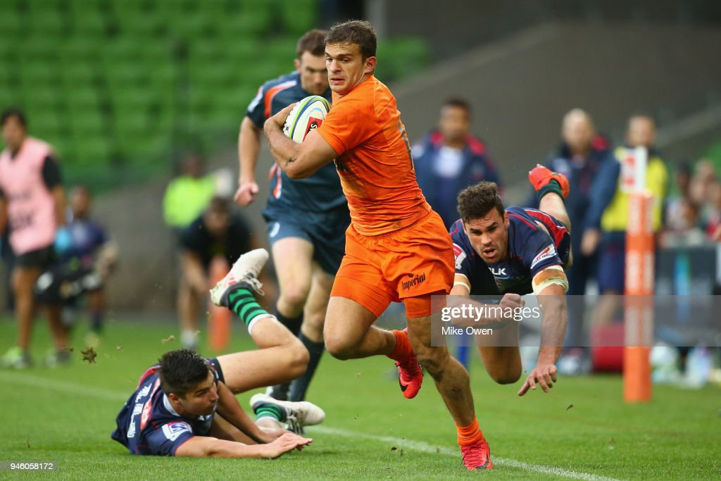 Super Rugby Rd 9 - Rebels v Jaguares : News Photo