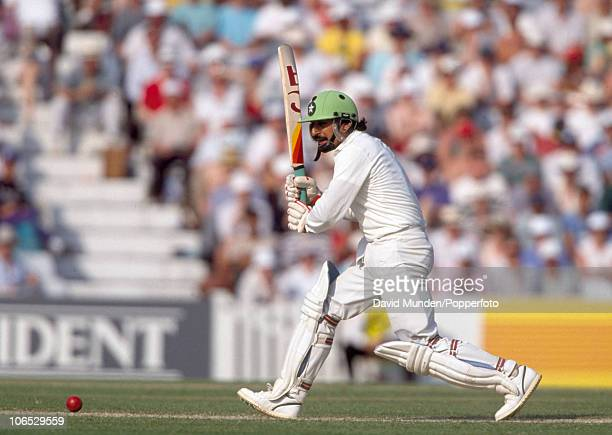 Ramiz Raja batting for Pakistan during the 2nd Texaco Trophy match between England and Pakistan at the Kennington Oval in London 22nd May 1992...