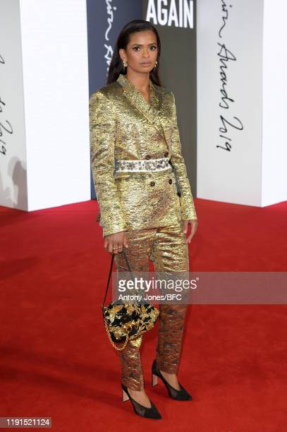 Ramla Ali attends The Fashion Awards 2019 held at Royal Albert Hall on December 02 2019 in London England