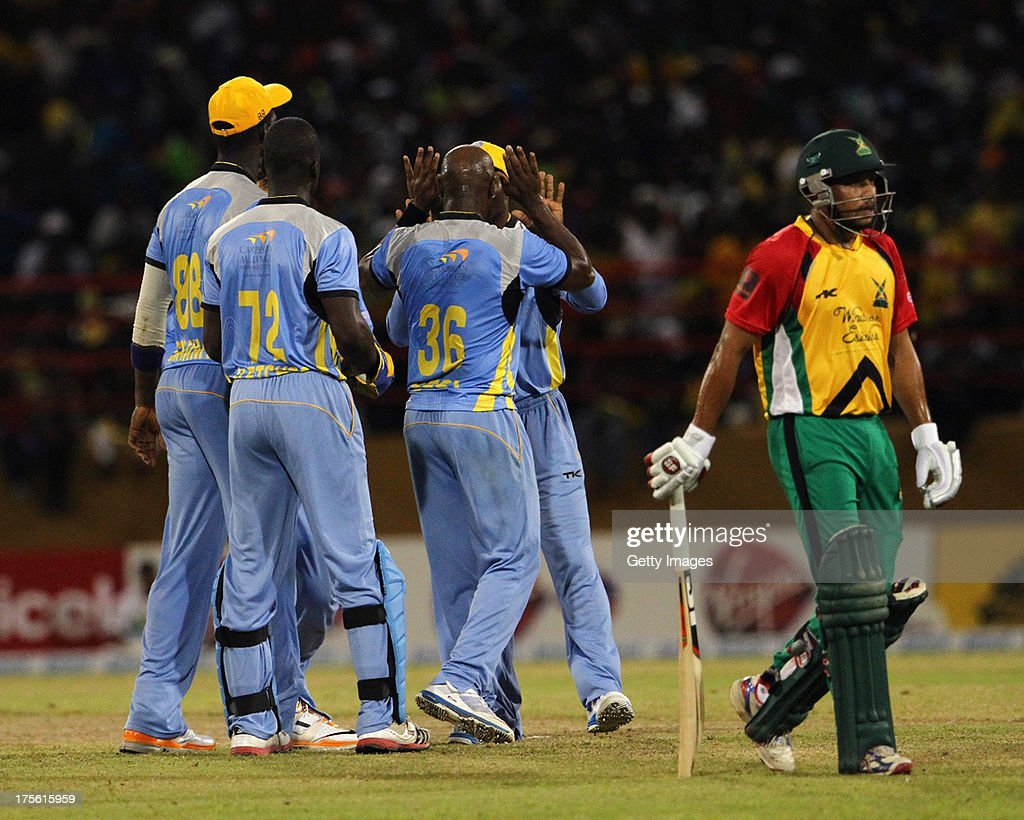 Guyana Amazon Warrior v St. Lucia Zouks - CPL 2013