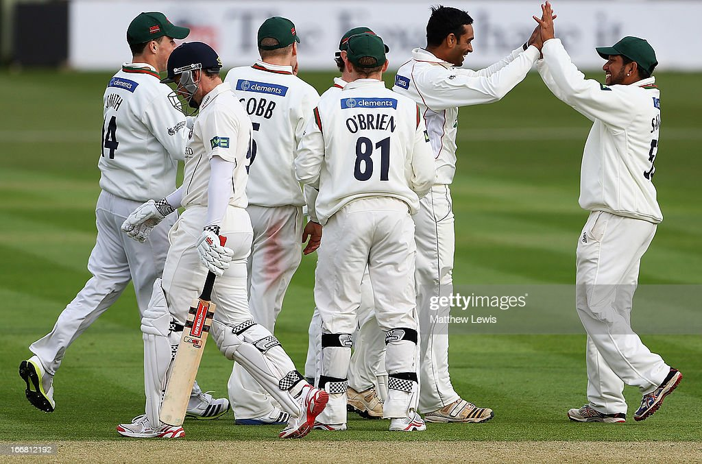 Leicestershire v Kent - LV County Championship