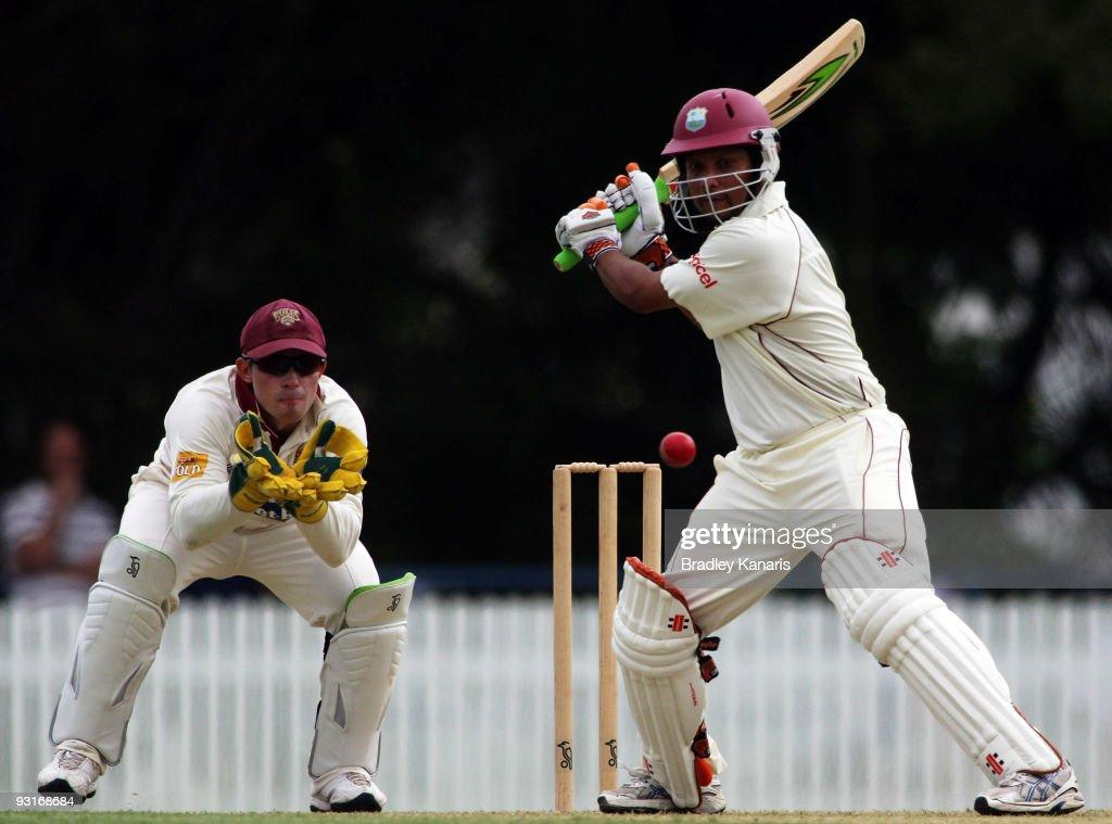 Queensland v West Indies - Day 1