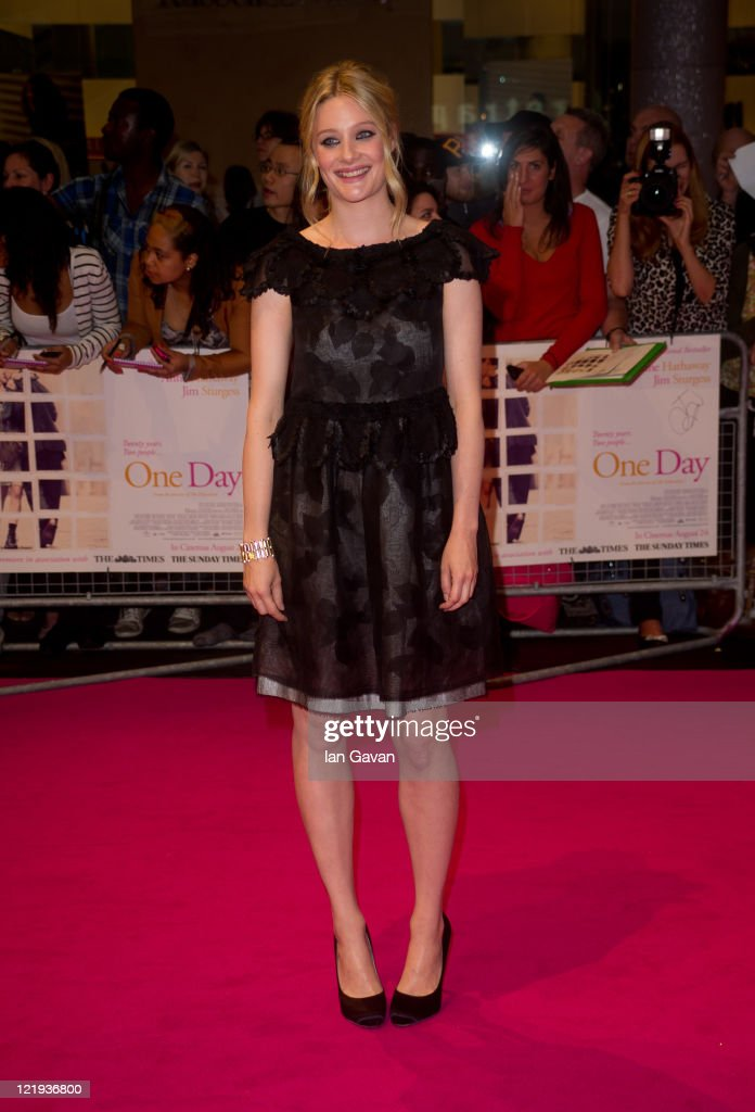 Ramola Garai attend the European premiere of 'One Day' at Vue Westfield on August 23, 2011 in London, England.
