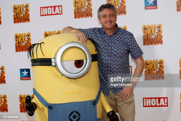 Ramon Aranguena attends the 'Despicable Me 3' premiere at Kinepolis cinema on June 22 2017 in Madrid SPAIN