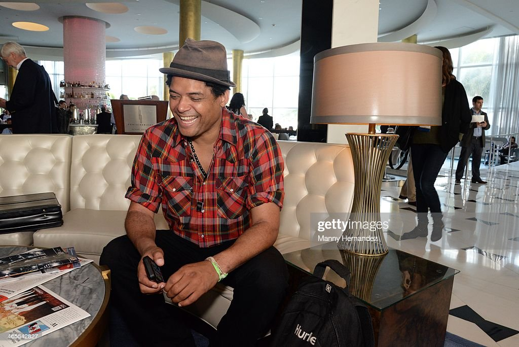 Ramon Castellon is sighted at NATPE 2014 in Miami Beach at Fontainebleau Miami Beach on January 27, 2014 in Miami Beach, Florida.