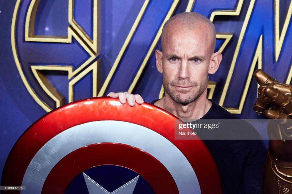 "ESP: Premiere Of 'Avengers: Endgame"" In Madrid"
