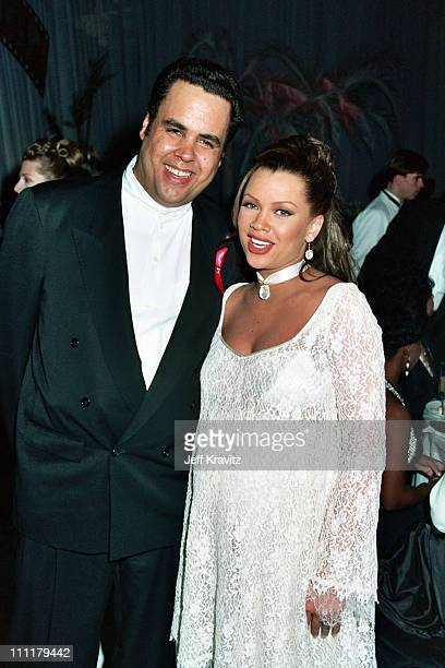 Ramon Hervey and Vanessa Williams during Grammy's AM Records' Party at AM Records in Los Angeles CA United States