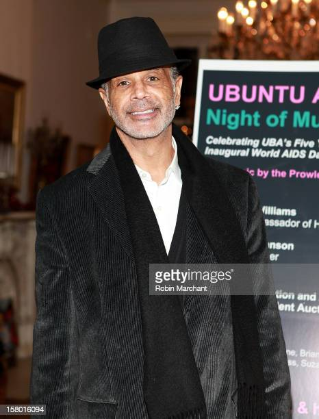 Ramon Hervey II attends Ubuntu Africa Worlds AIDS Day Benefit at Salmagundi Arts Club on December 8 2012 in New York City