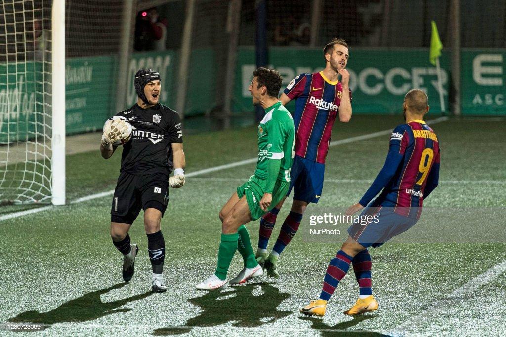 Cornella v FC Barcelona - King Cup : News Photo