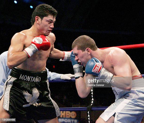 Ramon Montano and Dimitriy Salita during WBC Heavyweight Championship Fight - Hasim Rahman vs James Toney - March 18, 2006 at Boardwalk Hall in...