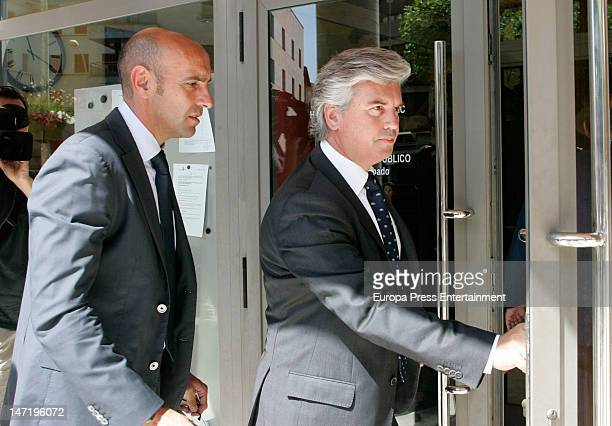 Ramon Rodriguez Verdejo 'Monchi' Sporting Director of Sevilla FC attends the funeral for Real Betis and former Liverpool FC football player Miki...