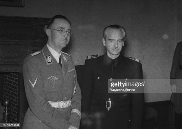 Ramon Serrano Suner And Himmler At Madrid In Spain During Forties