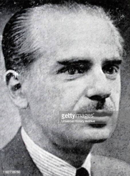 Ramon Serrano Suner Spanish politician during the first stages of General Francisco Franco's Spanish State between 1938 and 1942 when he held the...