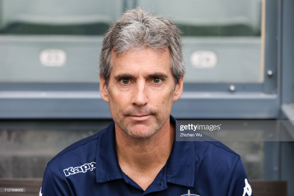 Ramon Tribulietx Coach Of Auckland City Fc In Action During