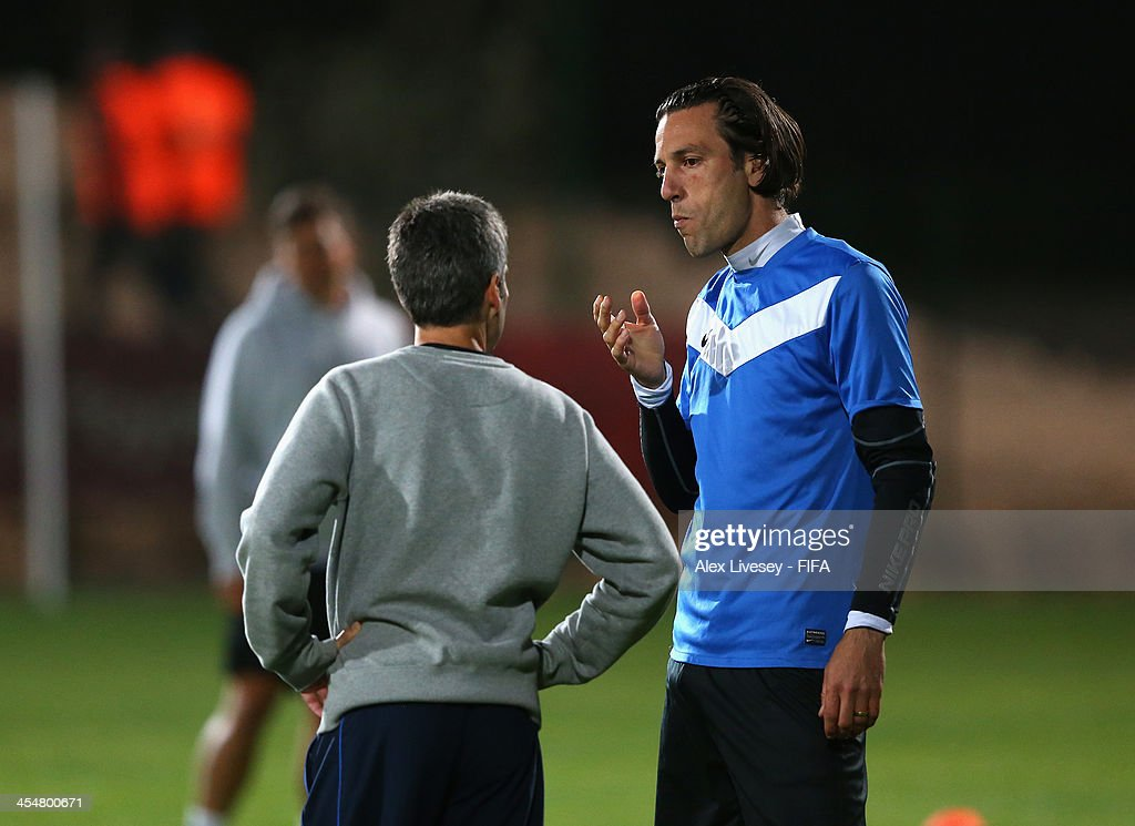 Ramon Tribulietx The Coach Of Auckland City Fc Talks With