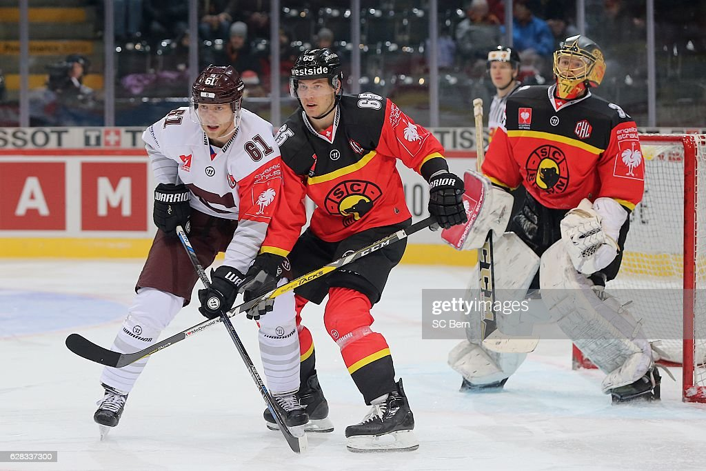 CHE: SC Bern v Sparta Prague - Champions Hockey League