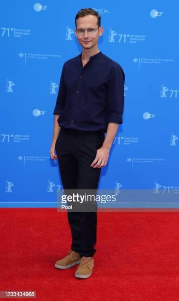 "Ramon Zuercher, winner of the ""Encounters"" Best Director Award for their movie ""Das Maedchen und die Spinne"" attends the Award Ceremony and..."