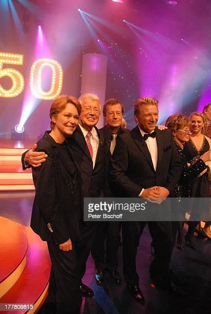 Ramona Leiß DieterThomas Heck Heiner Stelter Ludger Abeln Karin von Faber Julia Westlake NDRShow 50 Jahre Die Aktuelle Schaubude Studio 5 Studio...