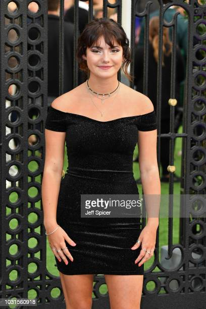 """Ramona Marquez attends the World Premiere of """"The House With The Clock In Its Walls"""" at Westfield White City on September 05, 2018 in London, England."""