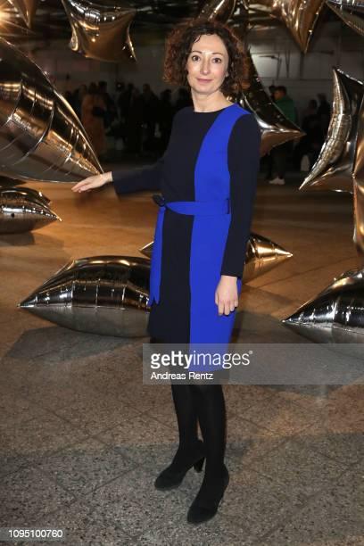 Ramona Pop attends the Dawid Tomaszewski Defile during the Berlin Fashion Week Autumn/Winter 2019 on January 16 2019 in Berlin Germany