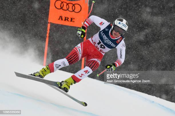 Ramona Siebenhofer of Austria competes during the FIS World Ski Championships Women's Alpine Combined on February 8 2019 in Are Sweden