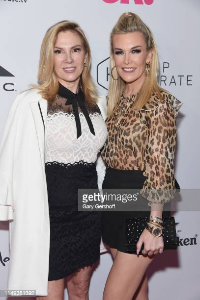 Ramona Singer and Tinsley Mortimer attend OK Magazine's NYC Summer Kick Off at Moxy Times Square on May 15 2019 in New York City