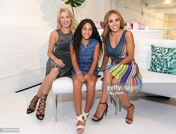 Ramona Singer Antonia Gorga and Melissa Gorga attend as Molly Sims shares beauty secrets and how she fits Nature's Bounty Hair Skin Nails Gummies...
