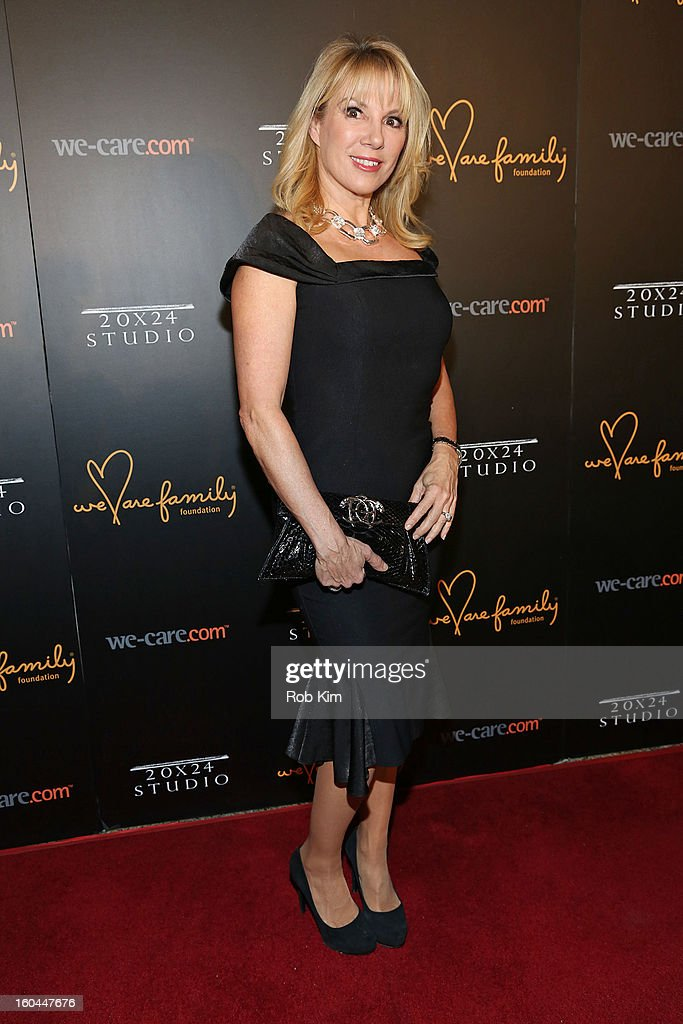Ramona Singer attends 2013 We Are Family Foundation Gala at Hammerstein Ballroom on January 31, 2013 in New York City.