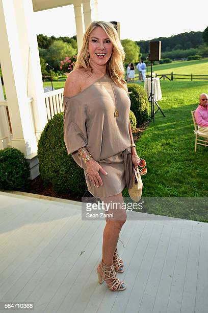 Ramona Singer attends as the Alzheimer's Association Hosts Rita Hayworth Gala Hamptons Kickoff Event at Ashgrove Farm on July 29 2016 in Watermill...