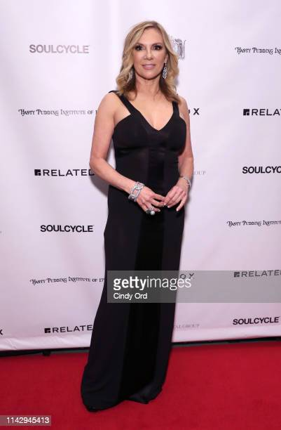 Ramona Singer attends as the Hasty Pudding Institute Of 1770 honors Marc Anthony at the 7th Annual Order Of The Golden Sphinx Gala at The Pierre A...