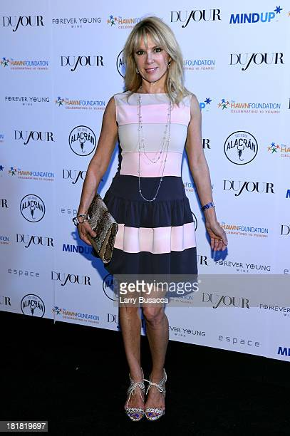 Ramona Singer attends DuJour's Jason Binn and Kurt Russell's celebration of Goldie Hawn and The Hawn Foundation at Espace on September 25 2013 in New...