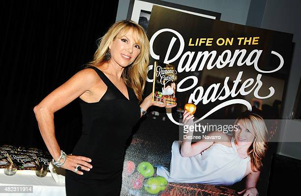 Ramona Singer attends her 'Life on the Ramona Coaster' book launch event at Beautique on July 29 2015 in New York City