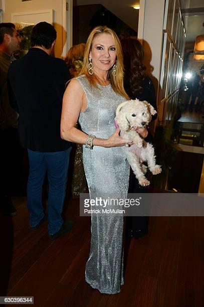 Ramona Singer attends Leesa Rowland Ramona Singer R Couri Hay Cornelia Guest Salute Animal Ashram @ Chez Couri at Chez Couri on December 19 2016 in...