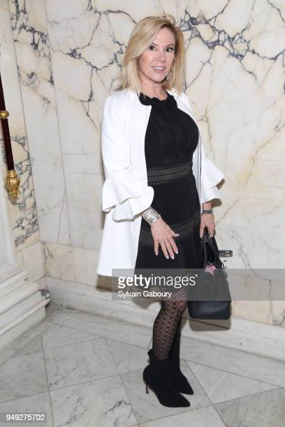 Ramona Singer attends Madison Square Boys Girls Club 2018 Salute to Style luncheon at Metropolitan Club on April 18 2018 in New York City Ramona...