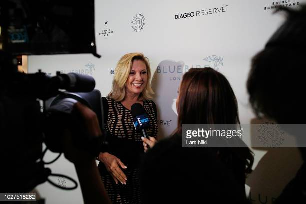 Ramona Singer attends the Bluebird London New York City launch party at Bluebird London on September 5 2018 in New York City