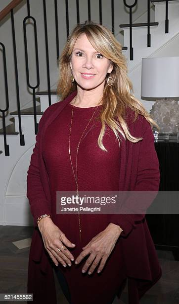 Ramona Singer attends the Brown Harris Stevens and Corcoran celebration of The Elegant Estate at 490 Hedges on April 15 2016 in Southampton New York