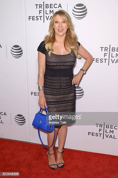 Ramona Singer attends the 'Equals' premiere during the 2016 Tribeca Film Festival at John Zuccotti Theater at BMCC Tribeca Performing Arts Center on...