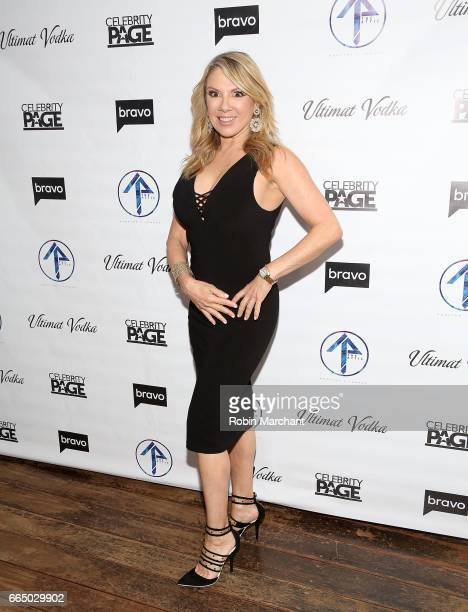 Ramona Singer attends 'The Real Housewives Of New York City' Season 9 Premiere Party at The Attic Rooftop Lounge on April 5 2017 in New York City