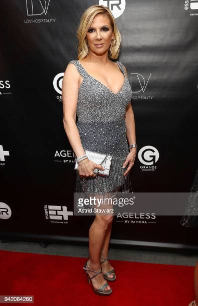 Ramona Singer attends The Real Housewives of New York Season 10 premiere celebration at LDV Hospitality's The Seville produced by Talent Resources on...